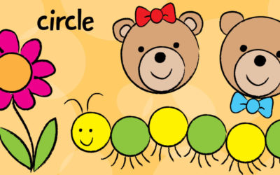 Draw Easy Teddy Bears & Caterpillars with Circles!