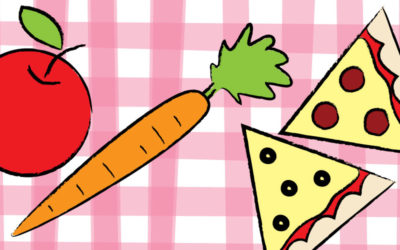 It's Time to Draw a Snack!