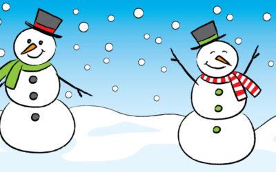 Let's Draw a Snowman!