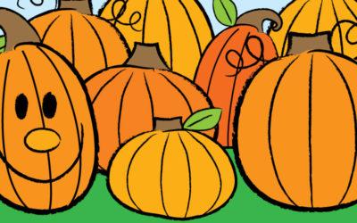 Let's Draw a Pumpkin!