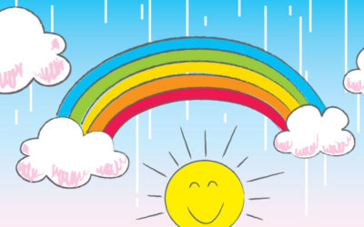 Let's Draw a Beautiful Rainbow!