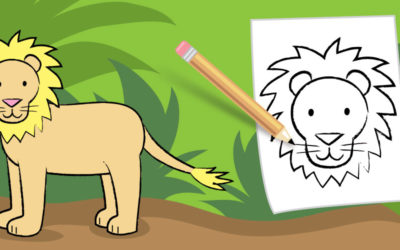 Let's Draw a Beautiful Lion!