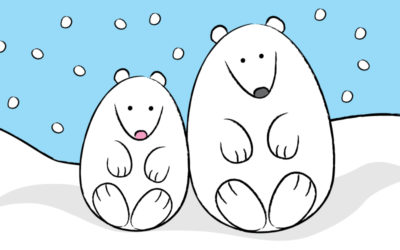 How to Draw a Cute Polar Bear!