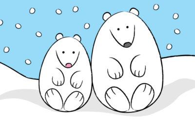 How to Draw a Cute Polar Bear!