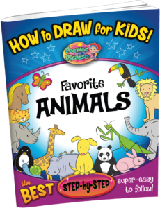 how to draw animals for children
