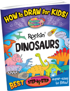 how to draw dinosaurs for children