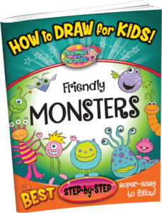 how to draw monsters for children