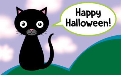 Draw a Black Cat for Halloween!