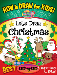 Christmas drawing book kids