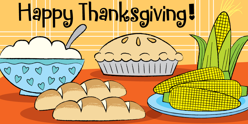 easy steps to draw a Thanksgiving feast for kids