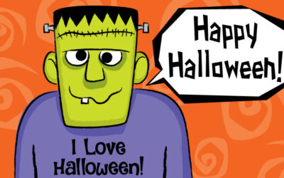 Happy Halloween! Let's draw Frankenstein!!