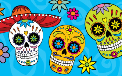 Draw Sugar Skulls for Day of the Dead!