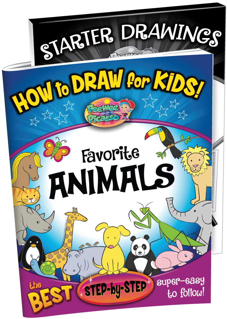 how to draw animals book for children